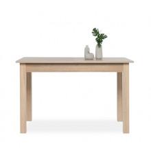 Table de salle à manger extensible COBURG chêne - 4/8 personnes