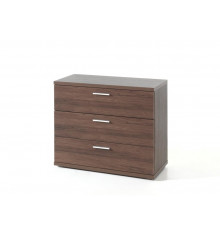 Commode 3 tiroirs GAEL noyer