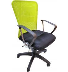 Chaise de bureau DALI noir et vert