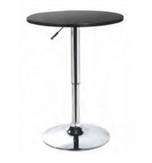 Table haute EUROPA noir - Lot de 2
