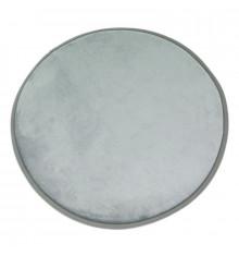 Tapis rond extra doux diam.70cm FLANELLE gris