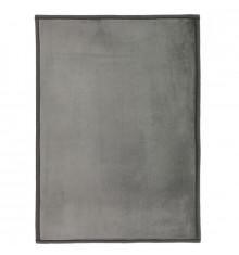 Tapis extra doux 120x170cm FLANELLE gris