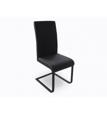 Lots de 2 Chaise GALIA noir