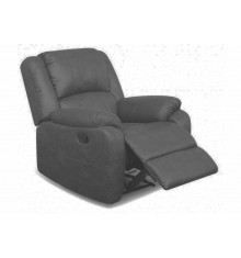Fauteuil recliner HOUSTON PU gris