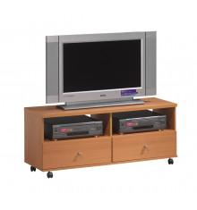 Meuble TV pivotant MOVE ON chêne clair
