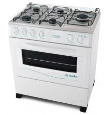 Cuisinière ALTO 5 feux gaz blanche