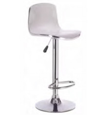 Tabouret de bar JULIA blanc - Lot de 2