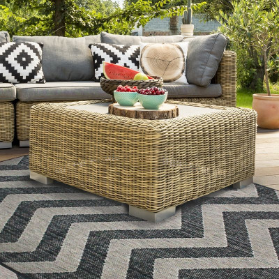 Tapis FLAT IN et OUTDOOR 160x230cm chevron