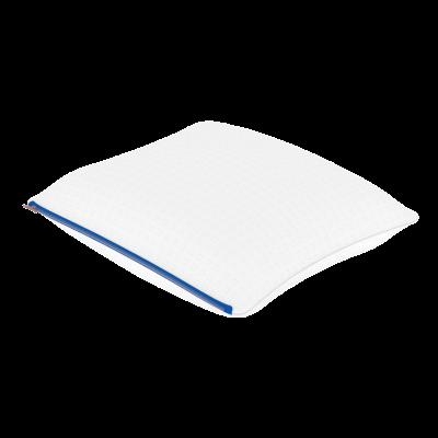 Oreiller ECOSENSE 60x40x14cm moelleux à mémoire de forme blanc