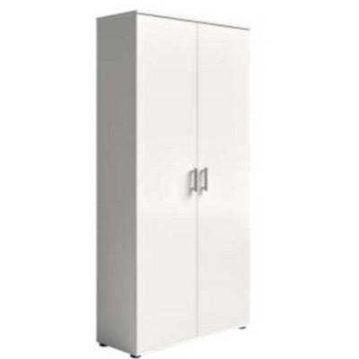 Armoire 2 portes battantes PANOKIT blanc