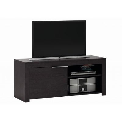 Meuble TV EBENE 1 porte 2 niches