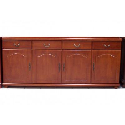 Buffet RENNES 4 portes 4 tiroirs merisier
