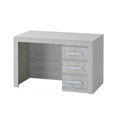 Bureau 3 tiroirs ALBA chêne clair