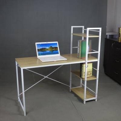Bureau informatique STUDIO hêtre/blanc