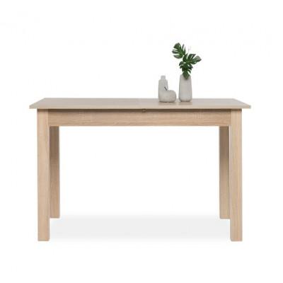 Table de salle à manger extensible COBURG chêne - 6/8 personnes