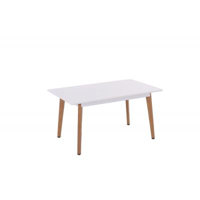 Table COLORADO bois/blanc