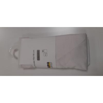 drap housse 90x190 cm polycoton Blanc
