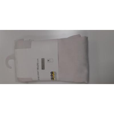 Drap plat 180x290 polycoton blanc