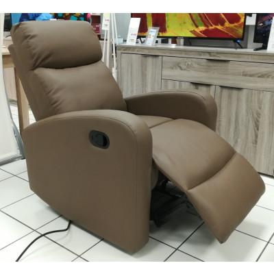 fauteuil relax ERDEVEN PU truffe