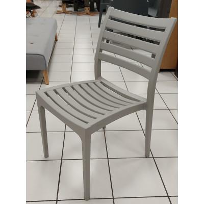Chaise ERIC gris clair