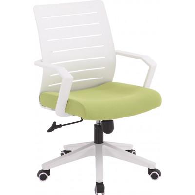 Chaise de bureau VERONE blanc/vert