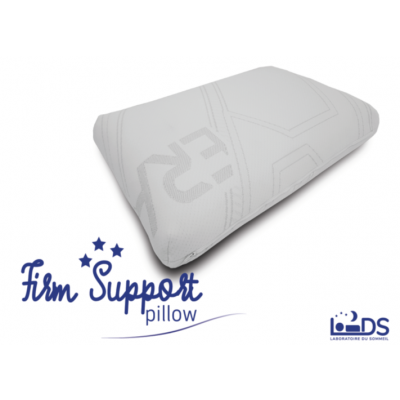 OREILLER FIRM SUPPORT 40x60cm - blanc
