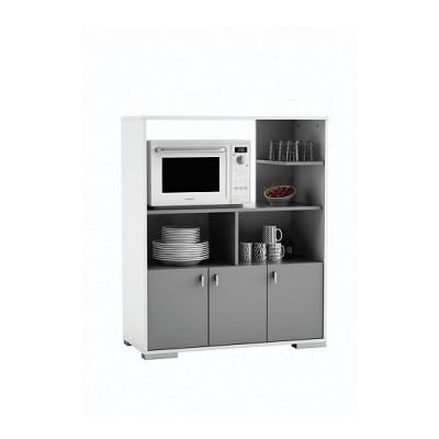 Loge-tout cuisine FLAKES gris/blanc