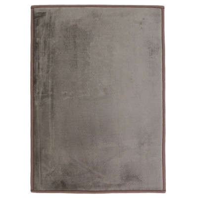 Tapis extra doux 120x170cm FLANELLE taupe