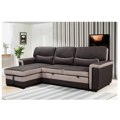 Canapé d'angle réversible FLORA