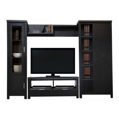 Living TV HARVEY 4 éléments Wenge