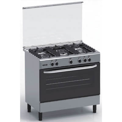 Cuisinière 5 feux gaz MAGIC POINT GX95 Inox