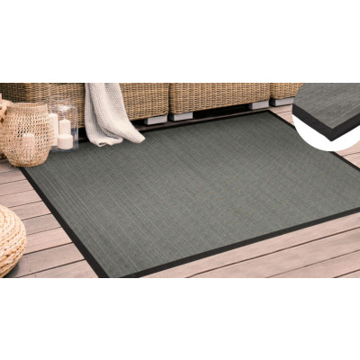 Tapis in&out gris 120x170 cm