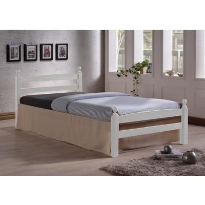 Lit 90X190 MEGARA bois blanc