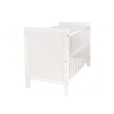 Lit BEBE PASCAL blanc 60x120 cm