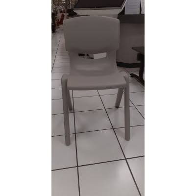 Chaise LUCIEN Taille 6 gris clair