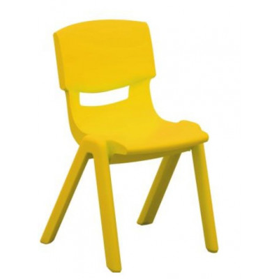 Chaise LUCIEN Taille 1 jaune