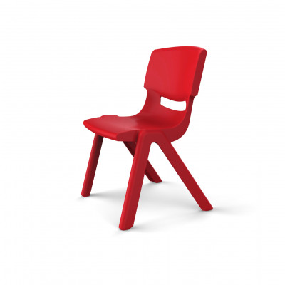 Chaise LUCIEN Taille 4 rouge
