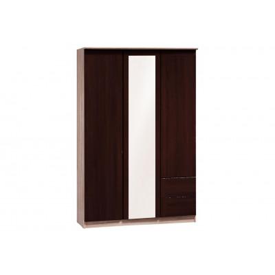 Armoire MARISSA 3 portes bicolore
