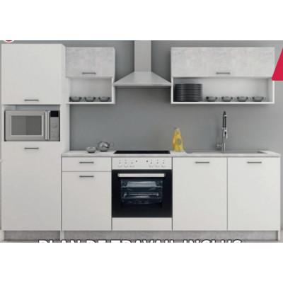 Mur complet cuisine MIKA