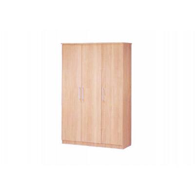 Armoire MISA 3 portes chêne clair gaufré
