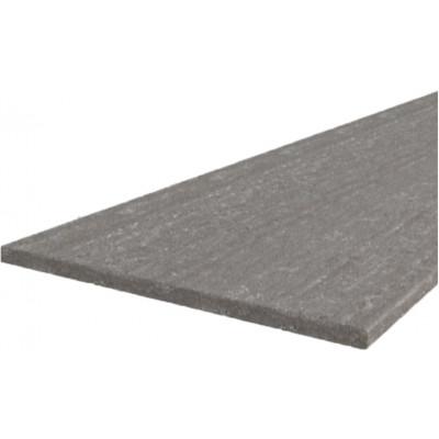 GREY/SONOMA/BIANKA - plan de travail 2 m de long marbré gris
