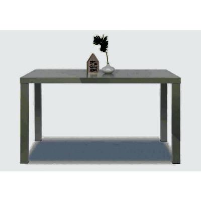 Table PRIMO gris - L 140 cm