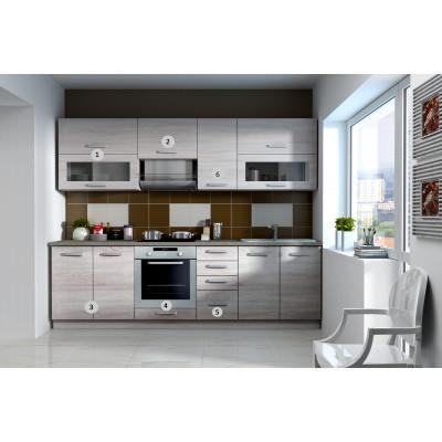 SONOMA - meuble bas angle 90x90