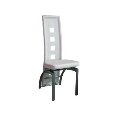 Chaise STAR pvc blanche