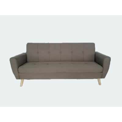 Canapé STEEVE 3 places tissu beige