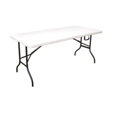 Table HOPE polypropylène pieds pliants 180x75 cm