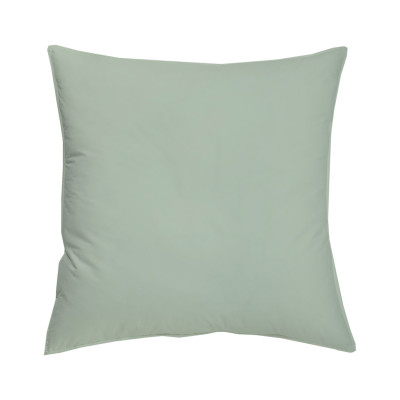 TAIE OREILLER 50x70cm COTON BIO - coloris vert amande
